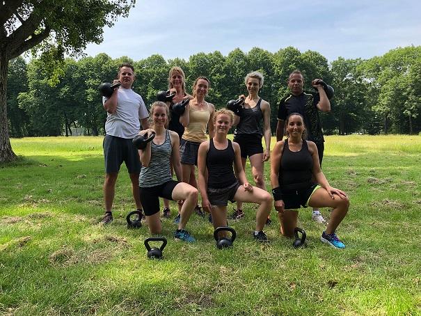 sport je gezond - Leer de kettlebell swing 1