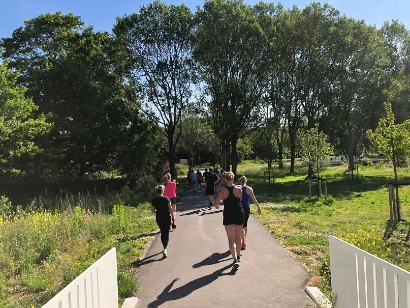 BuitenFit Haarlem op Haarlem105 - Kettlebell walk BuitenFit Haarlem Schoterbos Haarlem Noord