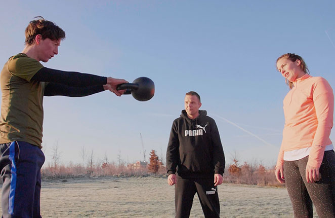 Trainingen/Rooster - kettlebell training
