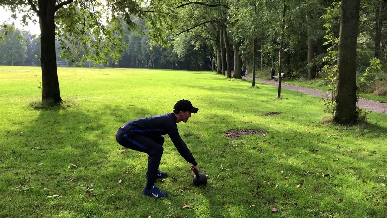 conditietraining Haarlem - Kettlebell training in Haarlem