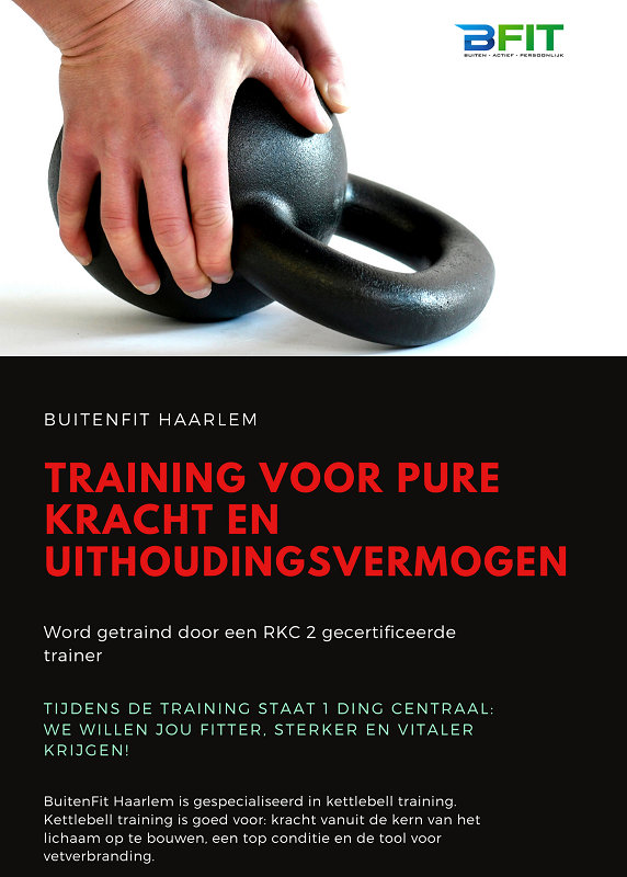 Waarom kettlebell training? - KB training