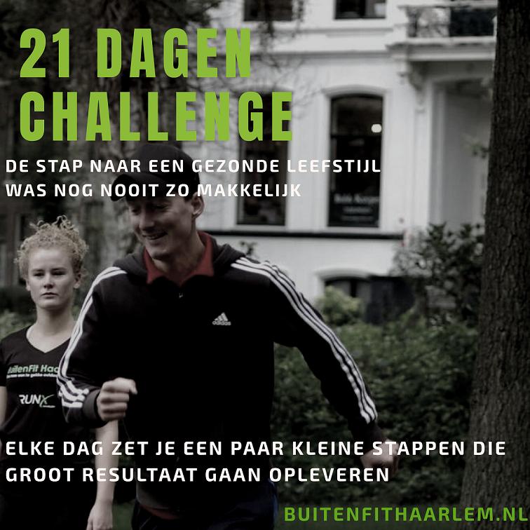 beginnen met fitness - 21 dagen challenge