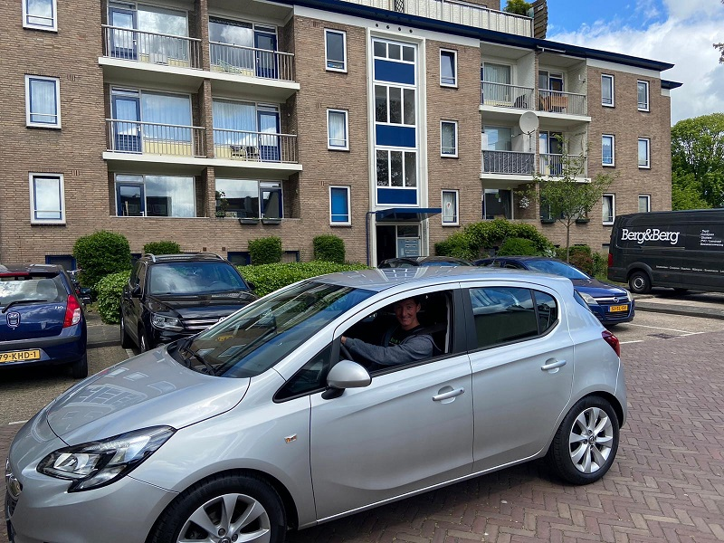 Winnaar ZZP held van Nederland - auto rijden