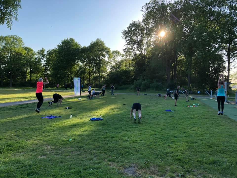 donderdagavond training - wie goed doet goed ontmoet BuitenFit Haarlem
