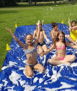 Kinderfeestje Haarlem - Organiseer een te gek kinderfeestje in Haarlem! - Sportief kinderpartijtje 256x300