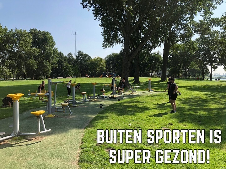 Buiten sporten Haarlem - Buiten sporten is SUPER GEZOND