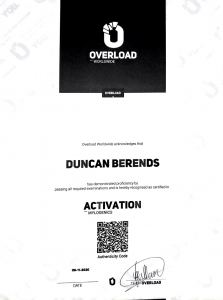 BuitenFit - Overload activation diploma 223x300