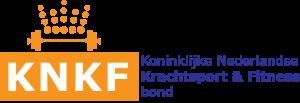 KNKF Koninklijke Nederlandse Krachtsport Fitnessbond certificaat - logo KNKF 300x103