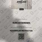 Mijn verhaal - Powersled certificaat 150x150